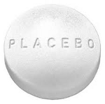 """Picture of pill titled """"placebo"""""""