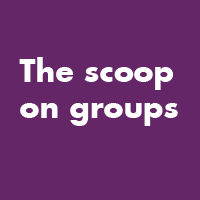 Choose among several vibrant discussion groups